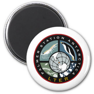 Palmer LTER Logo Products 6 Cm Round Magnet
