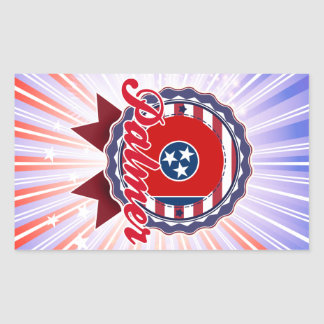Palmer TN Rectangular Sticker