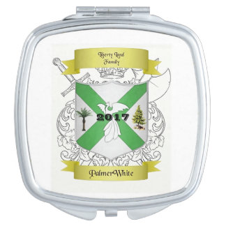 Palmer/White Family Crested Compact Compact Mirrors
