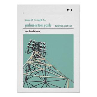 Palmerston Park, Queen of the South Poster