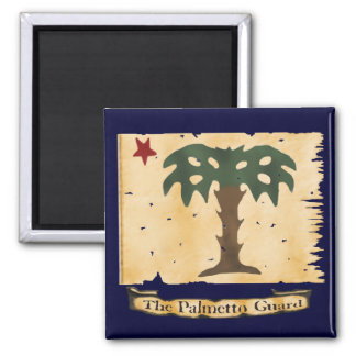 Palmetto Guard Square Magnet