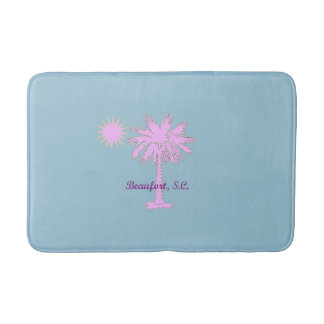 Palmetto Heat Logo of Sun and Tree on Bath Mat Bath Mats