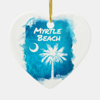 Palmetto Paint Splatter Christmas Ornament