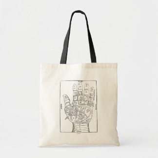 Palmistry, 1671 tote bag