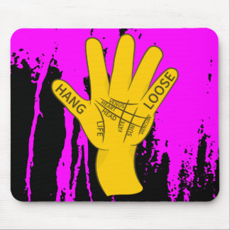 Palmistry Hang Loose Mouse Pad