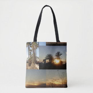 Palms on the Beach Tote Bag