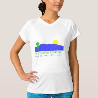 Palms Springs Pickleball Women's Athletic Shirt