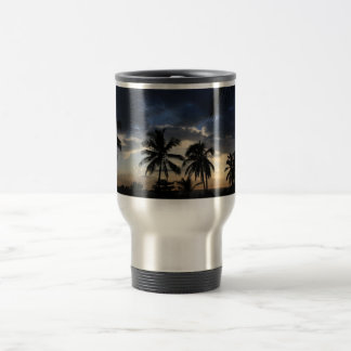 Palms Sunset Travel Mug