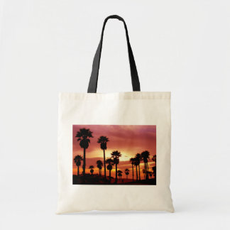 Palms Trees at Sunset Tote Tote Bag