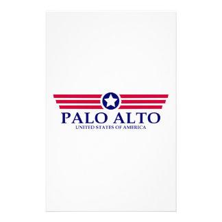 Palo Alto Pride Stationery Design