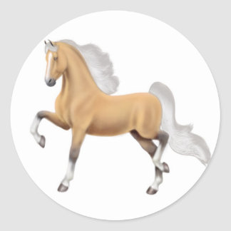Palomino American Saddlebred Sticker