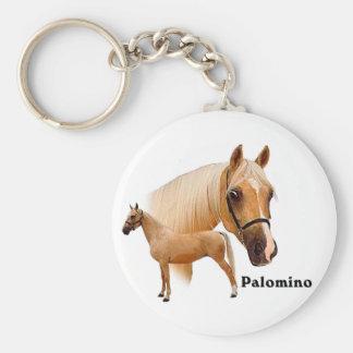 Palomino Basic Round Button Key Ring
