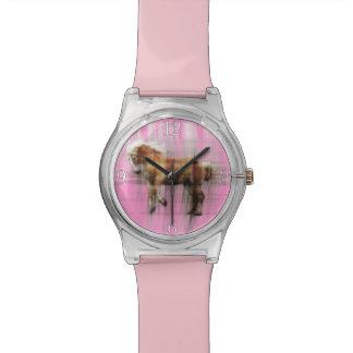 Palomino Belgian Draught Horse Animal-lover Art Wrist Watch