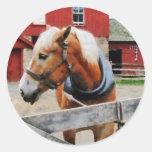 Palomino By Red Barn Sticker