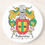 Palomino Family Crest Drink Coaster