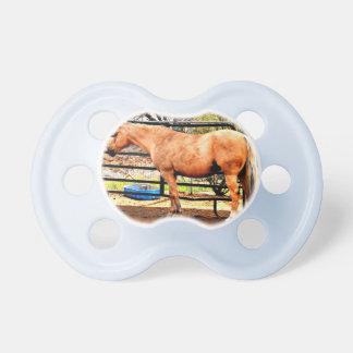 Palomino Horse Baby Pacifier