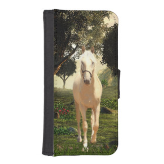 Palomino horse iPhone SE/5/5s wallet case