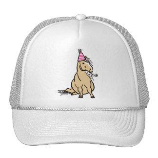 Palomino Party Pony Trucker Hats