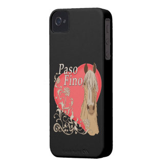 Palomino Paso Fino Heart Scroll iPhone 4 Cases