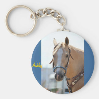 Palomino Pic Basic Round Button Key Ring