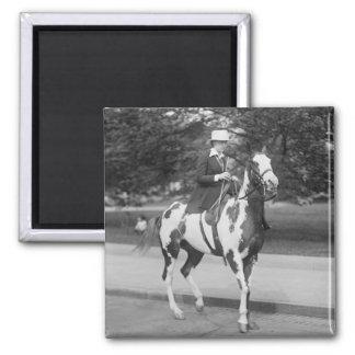 Palomino Pony, 1915 Square Magnet