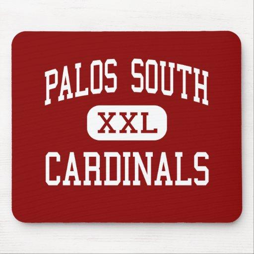 Palos South - Cardinals - Middle - Palos Park Mouse Mat
