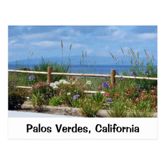 Palos Verdes and Catalina Postcard