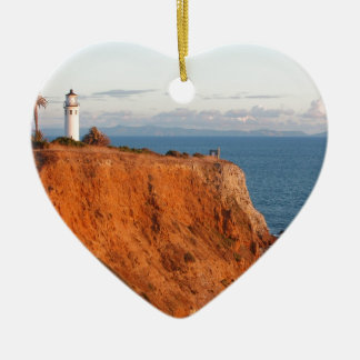 Palos Verdes Lighthouse Christmas Ornament