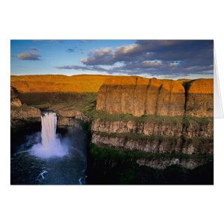 Palouse Falls in Washington Card