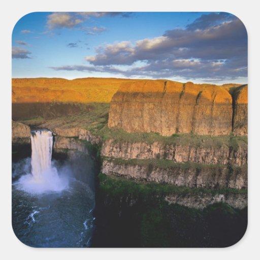 Palouse Falls in Washington Sticker
