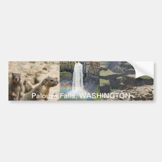 Palouse Falls, WASHINGTON - Been There, Got Tee Bumper Sticker