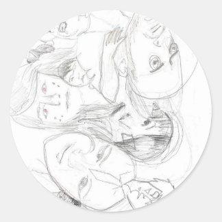 pals round sticker