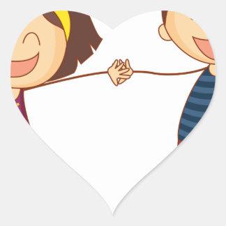 Pals Heart Sticker