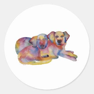 Pals Round Stickers