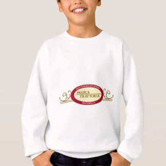 Paluca Trattoria Logo Design outlined Sweatshirt
