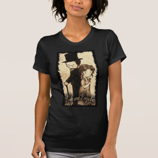 Pam Moore--- Ladies basic black medium Director T Shirt