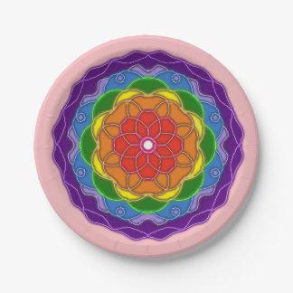 Pamela Design Paper Plate