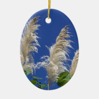 Pampas Grass In Bloom Ornament