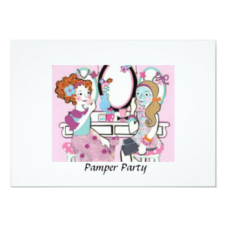 pamper party invitations - Pamper Party Invitations
