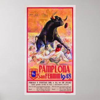 Pamplona 1948 poster