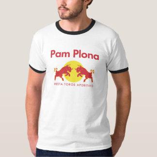 Pamplona parodies Red Bull Tee Shirts