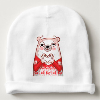 Pampu Love Baby Beanie