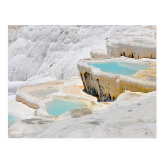 pamukkale turkey tourism travel postcard