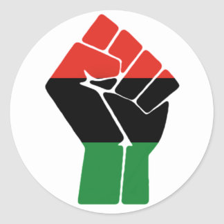 Pan-Africa Fist Stickers