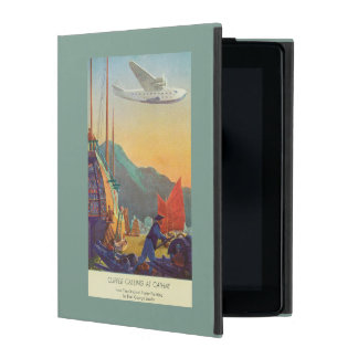 Pan-American Clipper Flying Over China Cover For iPad