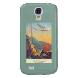 Pan-American Clipper Flying Over China Galaxy S4 Case