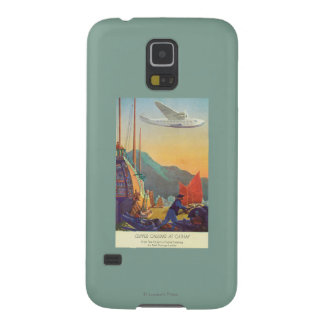 Pan-American Clipper Flying Over China Galaxy S5 Cases