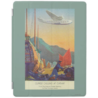 Pan-American Clipper Flying Over China iPad Smart Cover