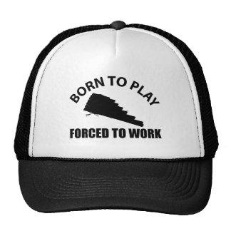 pan flute design hats