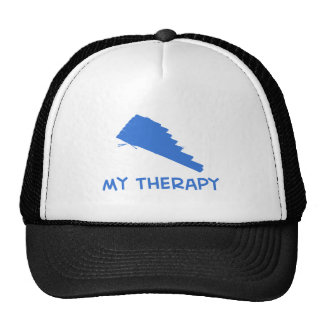 Pan Flute my therapy designs Mesh Hat
